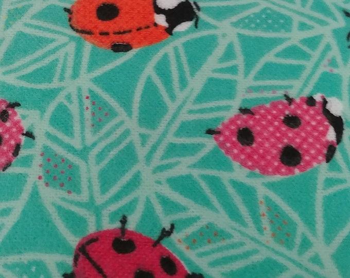 Blanket-Girls Stroller/Receiving Ladybugs and Flowers