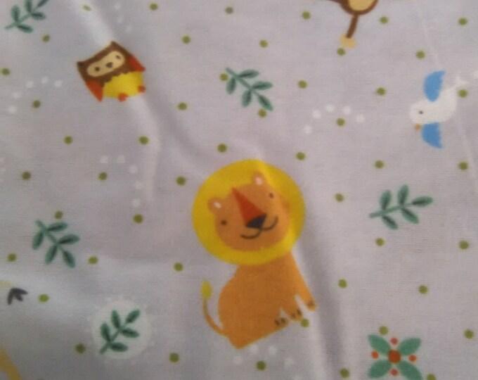 Blanket-Boys Receiving/ Stroller Animals 2