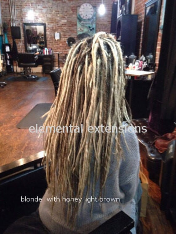 Synthetic Dreadlock Extensions Choose Your Amount Full Set Etsy