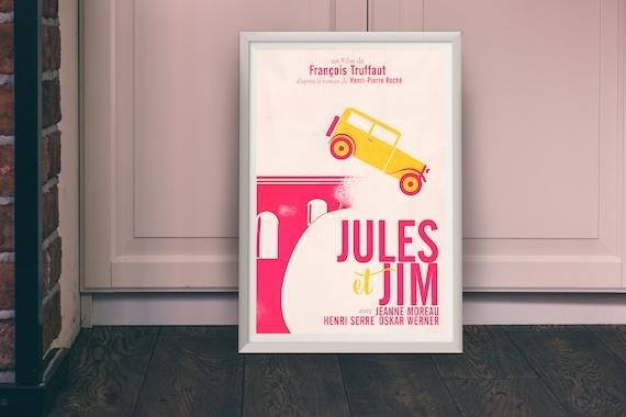 CARTE POSTALE film JULES ET JIM de François Truffaut avec Jeanne Moreau 100