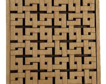 Interlocking Squares - 15 Piece - Difficult