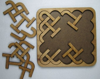 Knot So Simple Wooden Jigsaw Puzzle