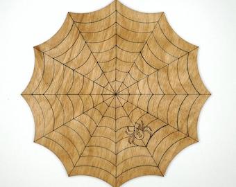 Black Widow Wooden Jigsaw Puzzle