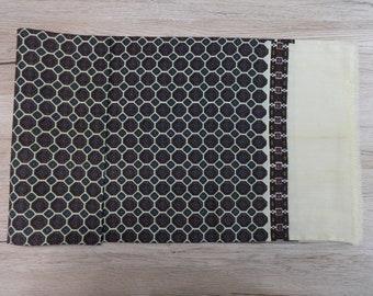 Mens Scarf Vintage silk wool