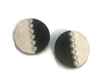 Hand painted studs