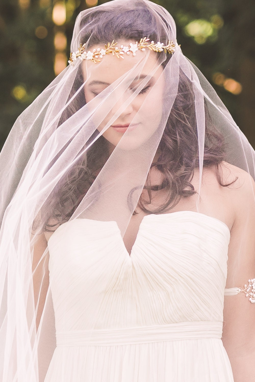 bridal hair vine wedding headband bridal crown wedding hair