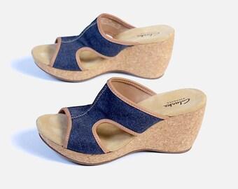 66d1cbdae7a6a Clarks sandals | Etsy