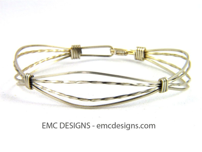 Classic Single Wide Bracelet in Sterling Silver image 0