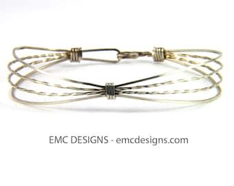 Classic Single Wide Bracelet in Sterling Silver