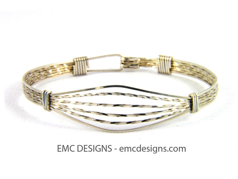 Classic Double Wide Bracelet in Sterling Silver image 0