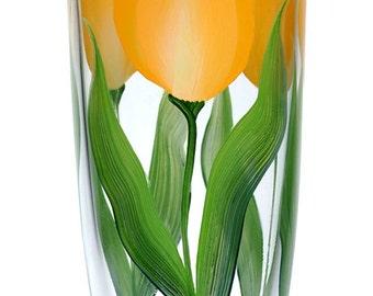 Yellow Tulips Tumbler