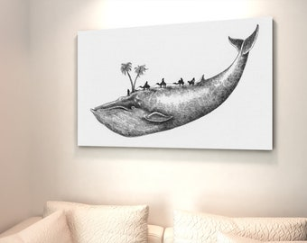 Digital Download, Large Printable Wall Art, Whale, Wall Decor, Cross Stitch, Instant Download, digital download gift. Personalized Print
