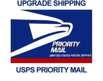 RUSH Shipping upgrade- Priority 5 day