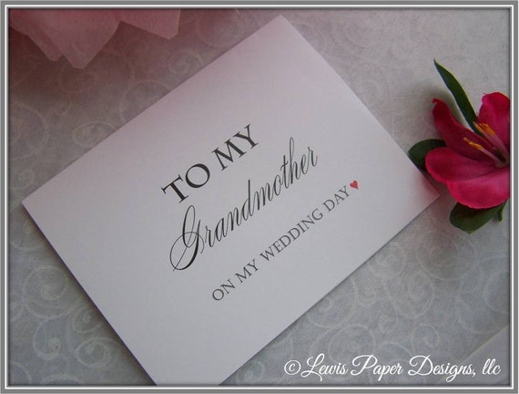 Floral Card - To My Parents On My Wedding Day Card Parents of the Bride Wedding Card Parents of the Groom FPS0066