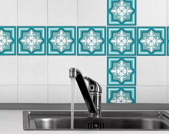 Stickers Voor Tegels : Decoratie tegels beste van zwart wit retro geometrische tegel