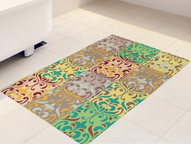 Adesivi per mattonelle pavimento set di con modello etsy
