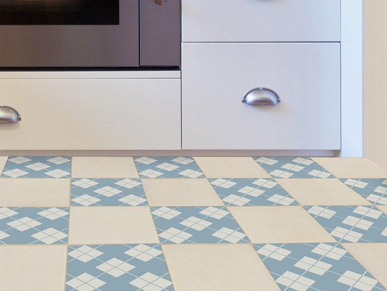 Adesivi per mattonelle pavimento set di con arredamento in etsy