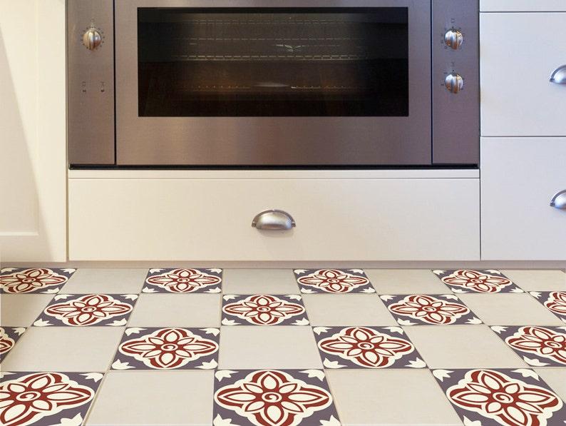 Adesivi per mattonelle pavimento set di 15 con ricche etsy