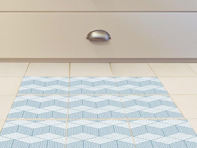 Adesivi per mattonelle pavimento set di 15 con il reticolo etsy
