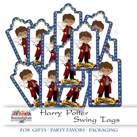 Items Similar To Wizard Swing Tags Harry Wizard Tags Swing