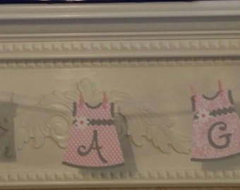 BABY BANNER - Baby Shower Banner - It's a Girl Banner - Baby Shower Decoration - Baby Girl Banner