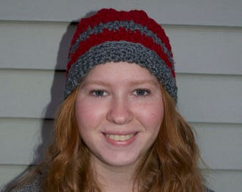 Crocheted Two-toned Hat
