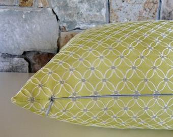 Pistachio Jacquard Pillow Cover