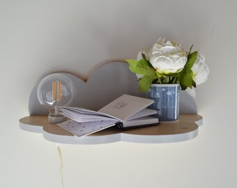 Cloud Shelf for home furnishings and children's bedrooms Nuvolì