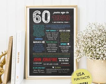 Personalisierte 50 Geburtstag Tafel Geschenk Fur Manner Die Etsy