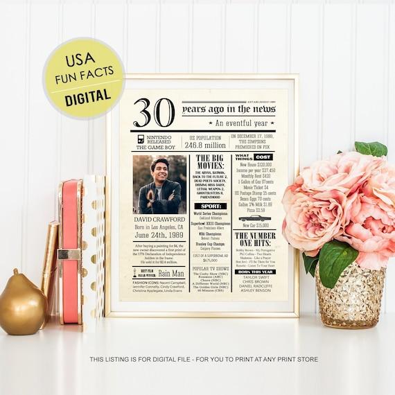 Leuke Ideeen Voor 70ste Verjaardag.70ste Verjaardag Poster Cadeau Idee Voor Haar Vrouwen Gepersonaliseerde 70e Verjaardagscadeau Voor Oma Nanny Moeder In De Wet Ons Leuke Feitjes 1949