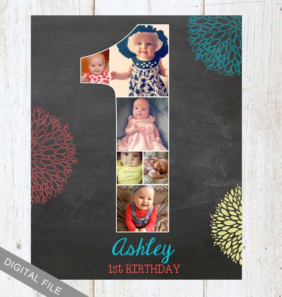 First Birthday Background Board 1st Room Decoration