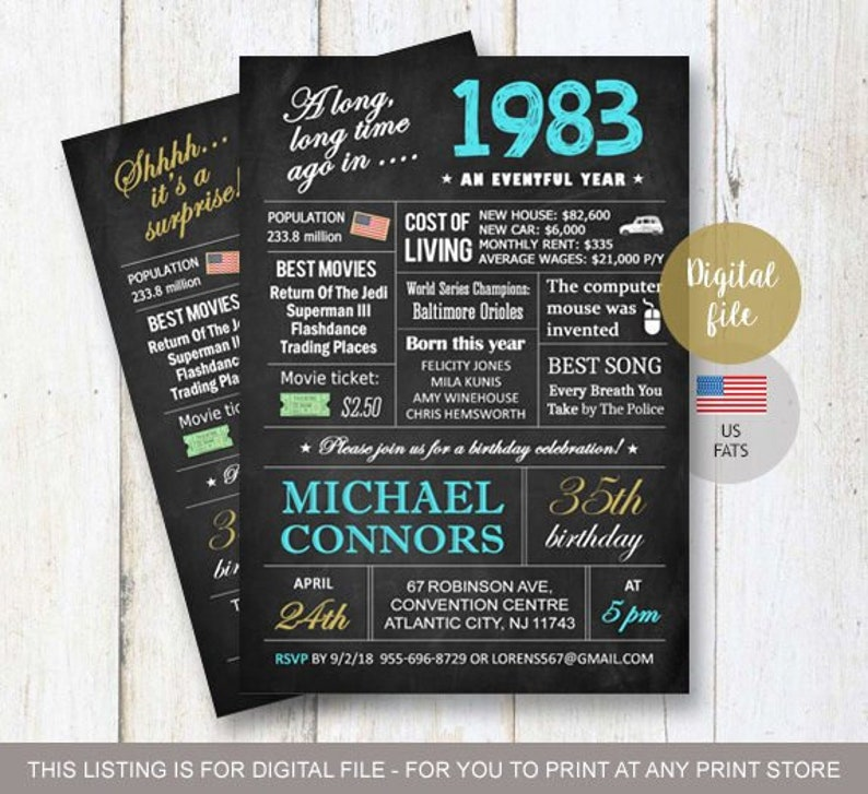 Funny 65th Birthday Invitation Ideas For Her Women Men Him Dad