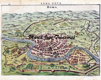 Vintage Rome (Italy) maps - Digital Download