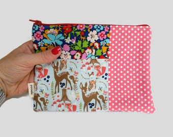 Kindle Case / Kindle Paperwhite case / Fabric Kindle case / Kindle Paperwhite Cover / Woodland Kindle case / gift for mum