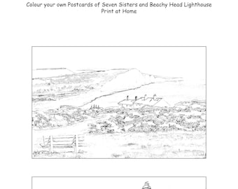 Colour In Postcards Download