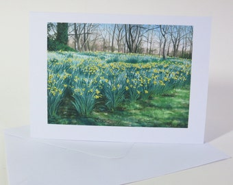 Spring Greetings Cards, blank for any occasion