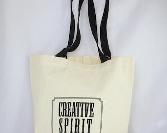 Artist's Tote Bag, plain, Creative Spirit