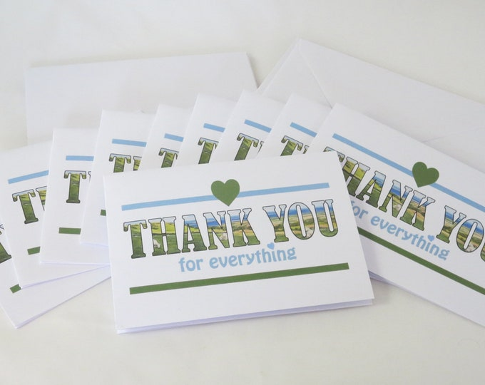 Featured listing image: Thank You Notelets, Pack of 10