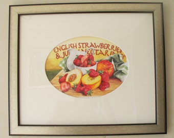 Juicy Fruit, original watercolour painting