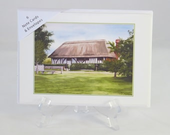 Pack of 6 Alfriston Clergy House Note Cards