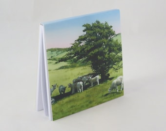 Spring Lambs Jotter Pad