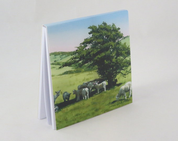 Featured listing image: Spring Lambs Jotter Pad