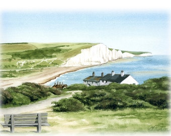 Print Your Own South Downs Notelets 3 designs