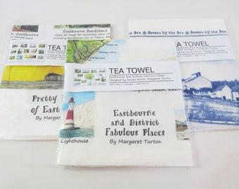 Pack of 3 Sussex Tea Towels