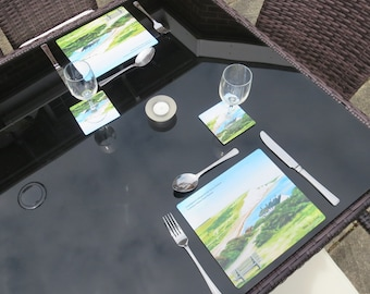 Al Fresco Place Mat & Coaster Set