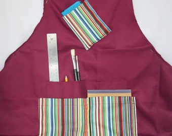 Art and Craft Apron, practical and colourful