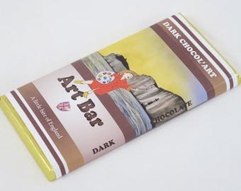 100g Dark Chocol'Art Bars, Sussex Scenes