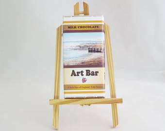 Down South Beach Art Bar, Milk Chocolate 100g