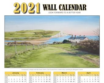 2021 Wall Calendar A3 Poster