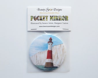 Lighthouse Pocket Mirror